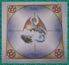Dragon Scrying/dowsing Mat, ideal for use with a pendulum, Wicca, divination