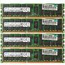 Samsung 32GB 4X8GB PC3L-10600R DDR3-1333MHz 240pin Ecc Registered Server RDIMM