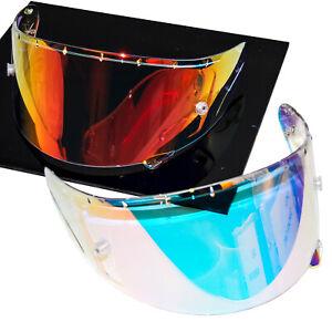 Fire Red Transition Photochromic Shield Visor for Shoei Helmet X14 RF1200 RF-SR