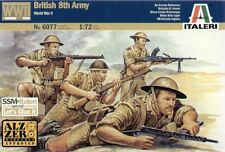 Italeri 1/72 WWII British 8th Army # 6077
