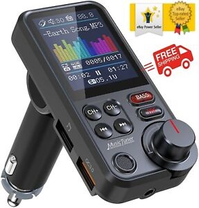 ✅✅ Nulaxy Car Bluetooth Transmitter Strong Microphone Bluetooth Radio Adapter ✅✅