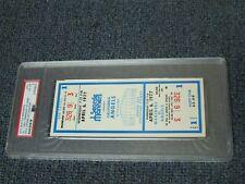 Aug 6, 1977 SEATTLE MARINERS 1st Game Full Ticket PSA Encap