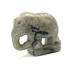 Skulptur - Statuette Elefant Thailändisch aus Stein Speck