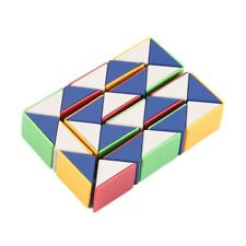 Snake Magic 3D Cube NPme Puzzle Twist Toy Party Travel Family Child Gift UO