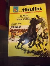 le journal de TINTIN N°1032 de 1968 L'ETALON NOIR TOUNGA
