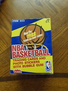 1988/89 FLEER BASKETBALL UNOPENED WAX PACK.