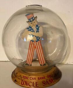 Early Uncle Sam Vic Moran Bubble Bank