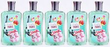 5 Bath & Body Works SWEET ON PARIS Shower Gel Body Wash 10 oz New