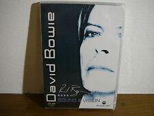 Stock 50 DVD David Bowie Sound & Vision NUOVO  Neu New