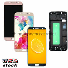 Fit For Samsung Galaxy J7 Pro 2017 SM-J730G SM-J730GM LCD Touch Screen Frame