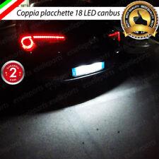 PLACCHETTE A LED LUCI TARGA 18 LED SPECIFICHE ALFA ROMEO GIULIETTA 6000K NOERROR