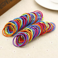 10/100pcs Elastic Rope Hair Ties Ponytail Holder Head Band Hairbands_CHBLUS