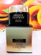 LANCOME ABSOLUE L'EXTRAIT REGENERATING ULTIMATE ELIXIR 5ML NEW IN BOX