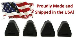 4 Pack Tailgate Latch Rubber Bumper Stop 16633065 LH & RH for Chevy Silverado GM