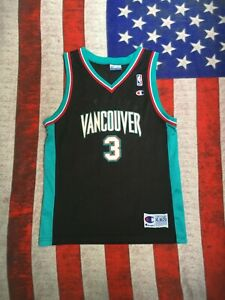 Authentic apparel Champion Shareef Abdur Rahim Vancouver Grizzlies #3 Jersey XL