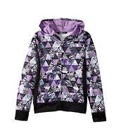 The North Face Girls Surgent Bellflower Purple Zip Hoodie Jacket Sz L 14 16