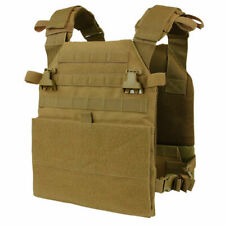 Condor Tactical Vest Vanquish Plate Carrier Military MOLLE Coyote Brown