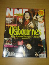 NME 2002 MAY 25 OSBOURNES QUEENS FOO FIGHTERS CORAL