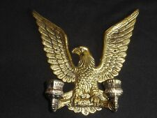 SOLID BRASS EAGLE WALL MOUNTING CANDLE HOLDER