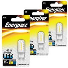 1x Energizer G9 20w/2.3w 22x Led Cápsula bombilla blanco Cálido usos 85