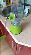 Potato Fruit Vegetable Press Juicer Stainless Steel Crusher Squeezer Used