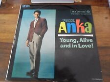 33 TOURS / LP--PAUL ANKA--YOUNG ALIVE AND IN LOVE