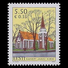 Estonia 2007 - St John`s Kanepi Church Architecture - Sc 579 MNH