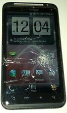 HTC ThunderBolt - Black (Verizon) Smartphone Cracked Glass Screen Unresponsive