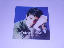 Patrick Fiori - j'en ai mis du temps - cd single
