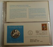 1972 U.N. Economic Commision for Europe Commem. Sterling Silver Proof Medal