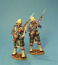 Gordon Highlanders - 2 Figures At Ready- John Jenkins GDH-08 First Sudan War