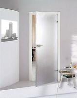 Glastür Drehtür WC Bad Glas Zimmer Tür satiniert matt  584 x 1972 mm P584SSL
