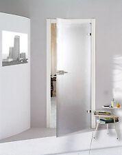 Glastür Drehtür Zimmer Tür WC Bad satiniert matt  584 x 1972 mm P584SSR