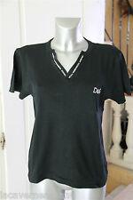 tee shirt noir stretch REPETTO taille XL   satisfaite ou remboursée