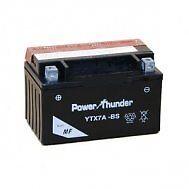 Bateria Power Thunder YTX7A-BS sellada sin mantenimiento