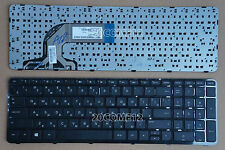 For HP Pavilion 15-n209er 15-n231er 15-e000sr 15-e002er Keyboard Russian Frame B