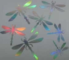 DRAGONFLIES SHEET OF 7- MUST HAVE **CAR DECAL / STICKER
