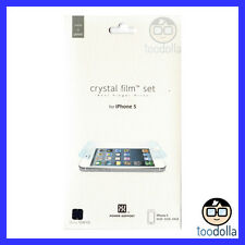 POWER SUPPORT Screen Protection Film - Crystal / Clear, Apple iPhone 5/5s/5c/SE
