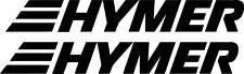 2 x HYMER sticker decal camper motorhome caravan
