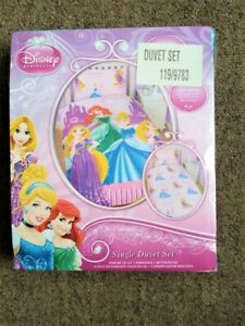 Disney Princess Single Duvet Set Bedding Set