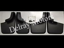 FRONT & REAR MUD FLAP SPLASH GUARDS WITH WHEEL LIP 04-2014 F-150. BRAND NEW!
