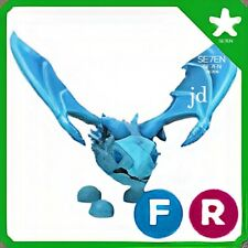 Roblox - Adopt Me - Fly Ride Frost Dragon - Legendary