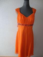Neu Heine Traumkleid Abendkleid Kleid Gr.42 orange Schuhe Hochzeit