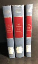 American Revolution : The Manuscripts of the Earl of Dartmouth / 3 Vol. Set / Iq