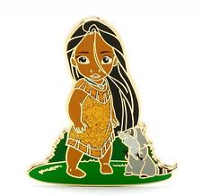 RARE LE Disney Pin✿Animator Collection Toddler Pocahontas Meeko Raccoon Baby LE