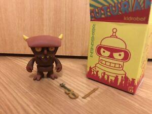 RARE ROBOT DEVIL Kidrobot Futurama Series 1 toy vinyl figure hell Beelzebot 1/96