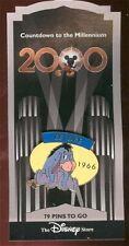 Disney pin Countdown to the Millennium Series Eeyore 1966 Winnie the Pooh Friend