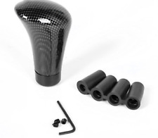 Accessories Car Gear Shift Knob Round Ball Shape Carbon Fiber Head Shifter Lever