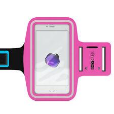 Universal Sport Armband Handy Armtasche Joggen Fitness Band Smartphone Pink