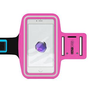 Universal Sports Armband Phone Armband Bag Jogging Fitness Band Smartphone Pink